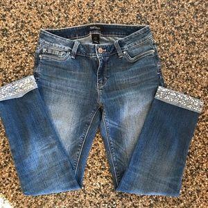 White House Black Market ankle jeans size 2